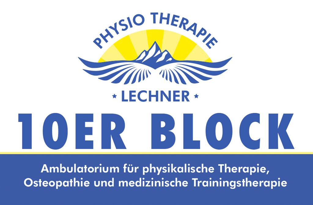 Physiotherapie Lechner | Jenbach in Tirol | 10er_Block